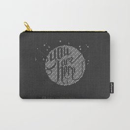 YOU ARE HERE  [Funfetti] Carry-All Pouch