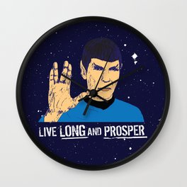 Spock Wall Clock