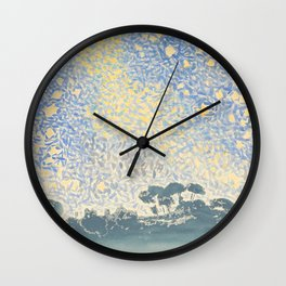 Landscape with Stars by Henri-Edmond Cross 1905–1908, French Wall Clock