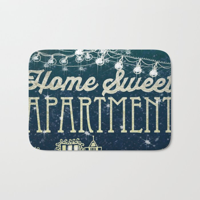Home Sweet Apartment Bath Mat