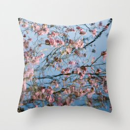 Water...Color (variation - abstract nature photography series) Throw Pillow