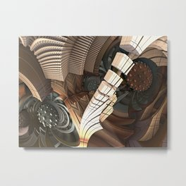 Azium abstration Metal Print