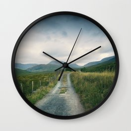 Mountain Panorama 2 Wall Clock