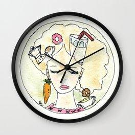 Il pensiero del buongiorno Wall Clock