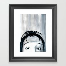 It Keeps Climbing Out The Spout Framed Art Print