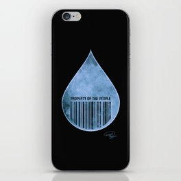 Water : Property of the People 2 iPhone Skin