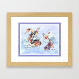 Koi nobori Framed Art Print
