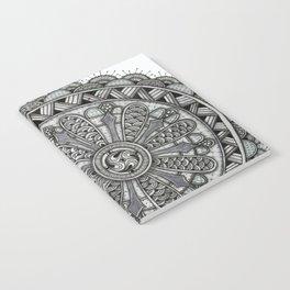 Layered Circle Mandala Notebook