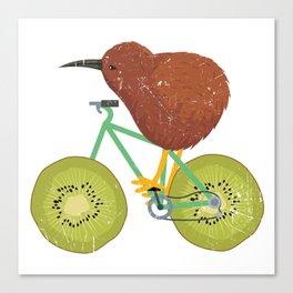 Kiwi Bike Gift Canvas Print