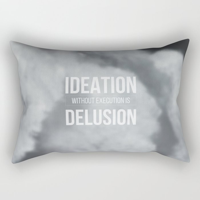 Thoughts in the clouds 01 Rectangular Pillow
