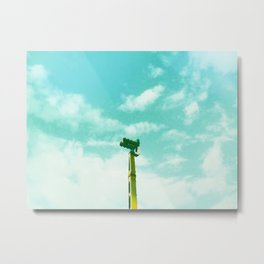 Leave your fears at home, darling Metal Print