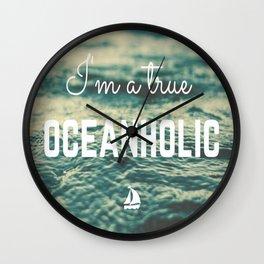 Oceanholic Wall Clock