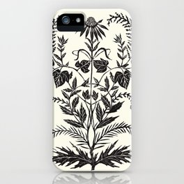 Wild Weeds iPhone Case