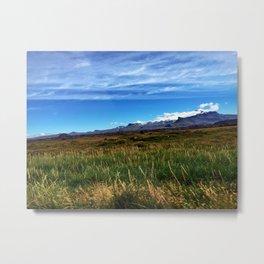 Backside of Snæfellsjökull Volcano/Glacier in West Iceland (1) Metal Print