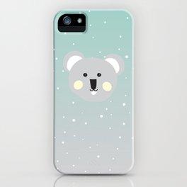 Cute Drop Bear iPhone Case
