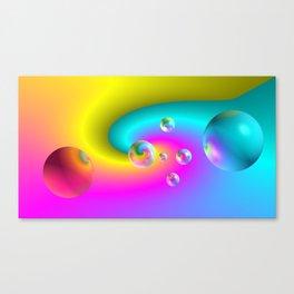 Paintballs Canvas Print