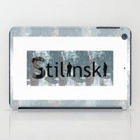 stiles stilinski iPad Cases featuring Stilinski by Ana Sánchez