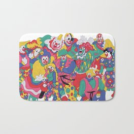 Street Fighter Clown Edition Bath Mat