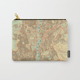 Cairo Map Retro Carry-All Pouch