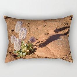 Lavender Bottlebrush in Desert Rectangular Pillow