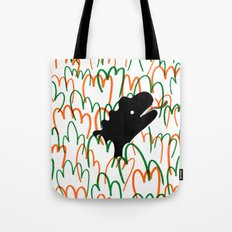 Jungle Dinosaur Tote Bag