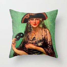 Pirate Jenny Throw Pillow