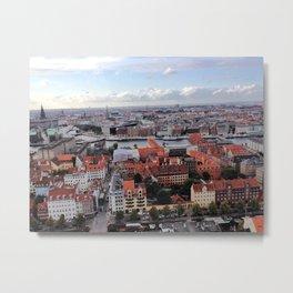 Copenhagen, Denmark - Vor Frelsers Kirke Metal Print