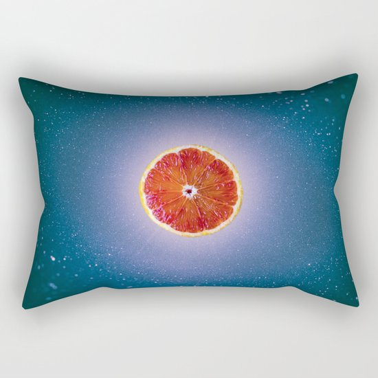 Orange sky 4 Rectangular Pillow