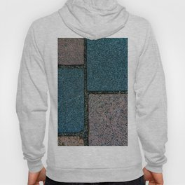 Blue and White Pavement Tiles Hoody