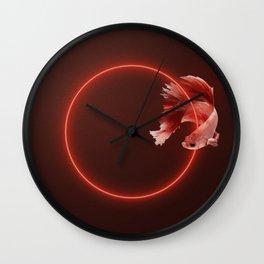 fOsh. Wall Clock