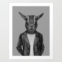 Old Goats Are Cool Art Print