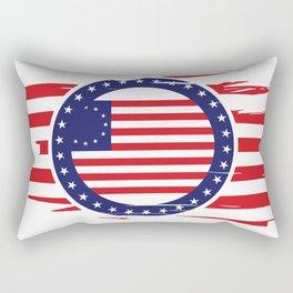 Betsy Ross Flag Rectangular Pillow