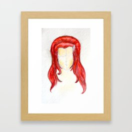 Colored Queen Framed Art Print