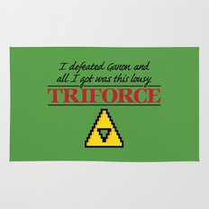 Lousy Triforce Rug