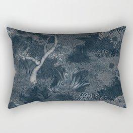 Treasure Chambers at Night Rectangular Pillow