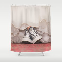 HER SHOES Shower Curtain