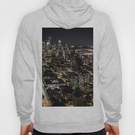 Seattle from the Space Needle Hoody