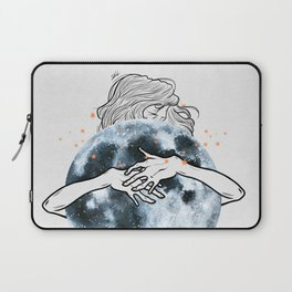 Hug the moon. Laptop Sleeve