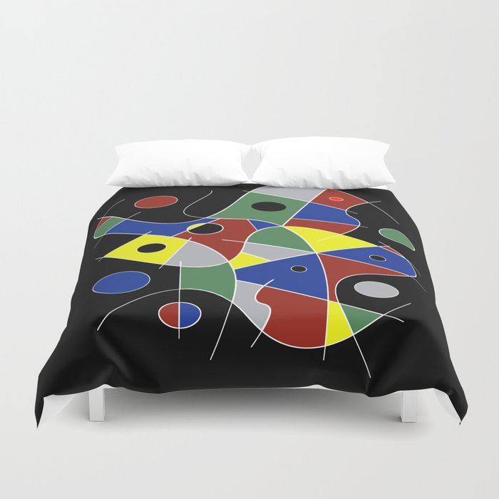 Abstract #232 Duvet Cover