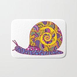 Colorful Snail Bath Mat