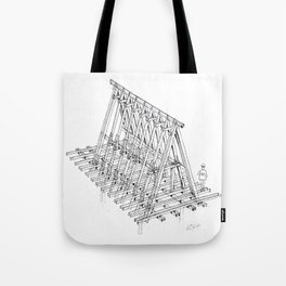 Homestay Structure Tote Bag