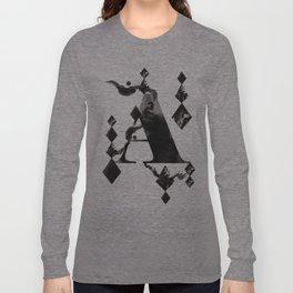 A alphabet Long Sleeve T-shirt