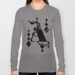 A alphabet Long Sleeve T-shirt