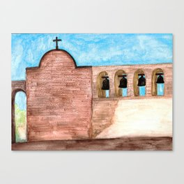 The Mission Bells Canvas Print