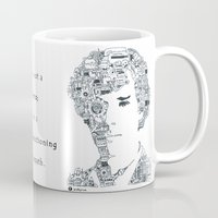 benedict Mugs featuring Benedict Cumberbatch by Ron Goswami