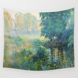 Václav Radimský (1867-1946) Bath Modern Impressionist Oil Painting Colorful Bright Landscapes Wall Tapestry