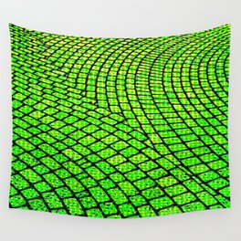 Green Brick Road Wall Tapestry