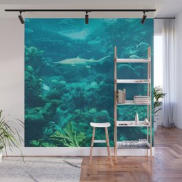 In the big blue world... Wall Mural