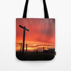 Signs for Sunset Tote Bag