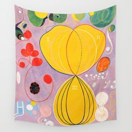 """Hilma af Klint """"The Ten Largest, No. 07, Adulthood, Group IV"""" Wall Tapestry"""